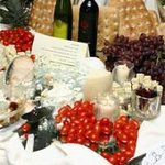 Just a hint of the great things offered for our weddings and other parties.