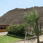 Huaca Pucllana from the Restaurant's Outside Terrace