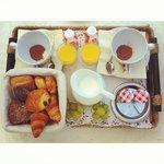 La colazione ottima!