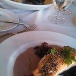 au poivre salmon and bouillabasse