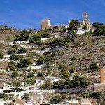 Vistas del Castillo y Santuario de Cullera