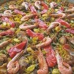 Uno de nuestros platos emblemáticos la Paella
