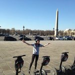 Segway tour of Paris with Kirstie!