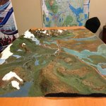 3D map of Torres Del Paine