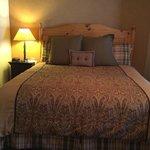 Nice comfortable beds and decor.