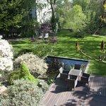 Le jardin et son étang