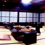 Dining Area within the ryokan