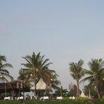 Samaya from beach