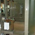 Villa shower