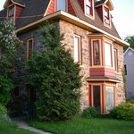 The historic field-stone home built in 1891