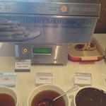 Interesting pancake machine