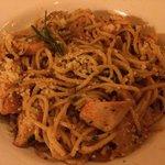 Spaghetti au homard frais, une pure merveille!