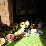 Mesa del desayunador