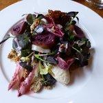Fig and vinny salad - yum