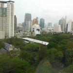 vista do hotel oriental residence bangkok