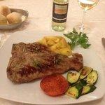 t-bone steak......