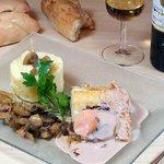 Notre morue au foie gras