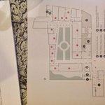 Museum map of ground floor