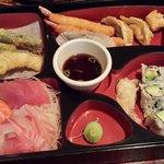 sashimi bento box