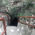 Stairs down to the 2nd cenote