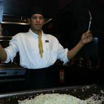 Our chef at Kyoto Japanese restaurant