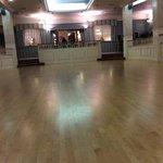 the beautiful ballroom