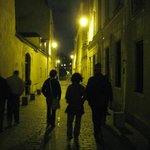 an after dinner stroll in the Latin Quarter