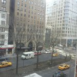 view of W. 76th & Broadway from room #300