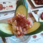Special of the Day: seafood ceviche