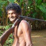 Hunter near Sigiriya Rock