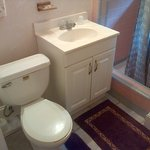 Quaint bathroom.