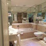 Huge bathroom in our room!