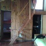 Las habitaciones en el quincho