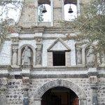 private church entrance