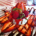 Pannacotta de fresa :D