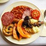 Scottish breakfast.
