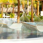 hammocks in the pools, so relaxing!