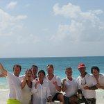 The Gang on Barbuda