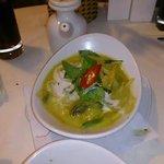 Green Thai Curry (lunch menu)