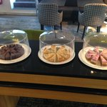 Executive Lounge cakes during afternoon tea hours