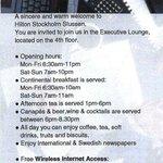 Executive Lounge - details