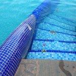 Accès piscine
