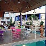 Bar piscine