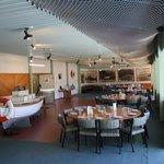 Lodge dining room.