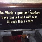 Who couldn't resist stopping in the basement for a drink after seeing this?