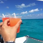 Beautiful water colors at isla mujeres