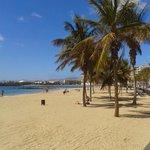 beach in Arrecife