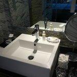 REN products in bathroom