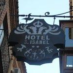 Cartel-logo del Hotel