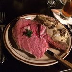 Super Sweet Sunday Prime Rib, Salad bar, potato and dessert $19.95